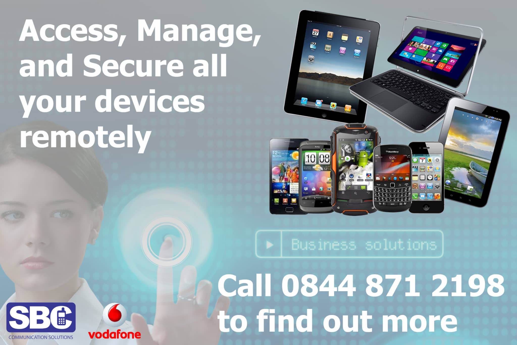 Powerful, simple-to-use device management for your smartphones and tablets