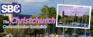 SBC Christchurch. Telecoms and Data Solutions.
