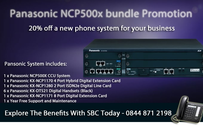 New Panasonic Telephone System Promotion – Closing 30th April 2014