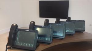 Unpacking handsets Panasonic UT670