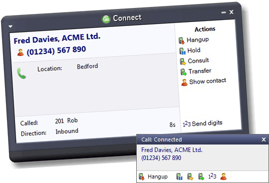CTI CRM Integration
