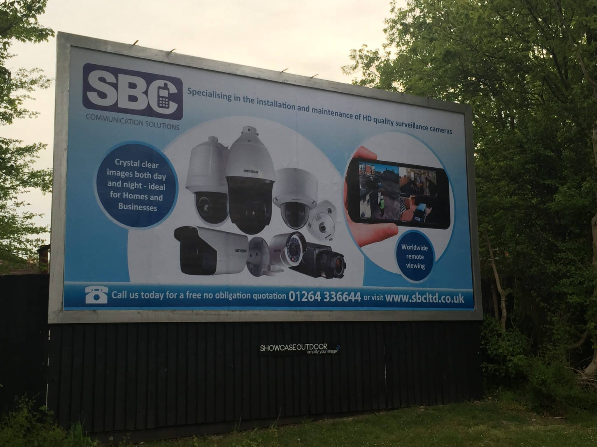 SBC HD CCTV Surveillance Cameras Go LARGE!