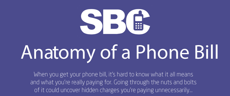 Understanding your phone bill could help you make significant cost savings