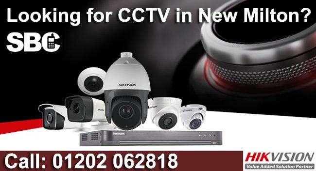 New Milton CCTV system Installations