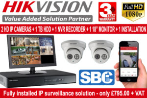 Hikvision Security Camera Package