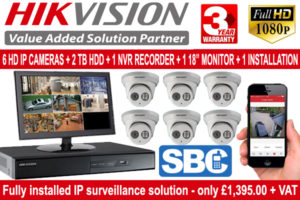 SBC CCTV Package Deal with Installation