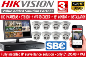 Are you looking for business CCTV packages?
