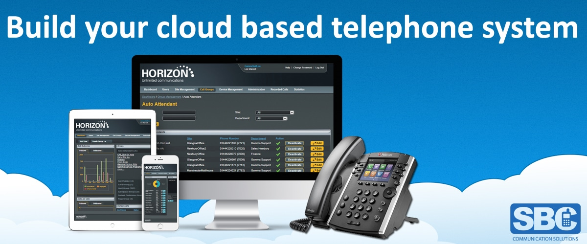 Cloud hosted phone system