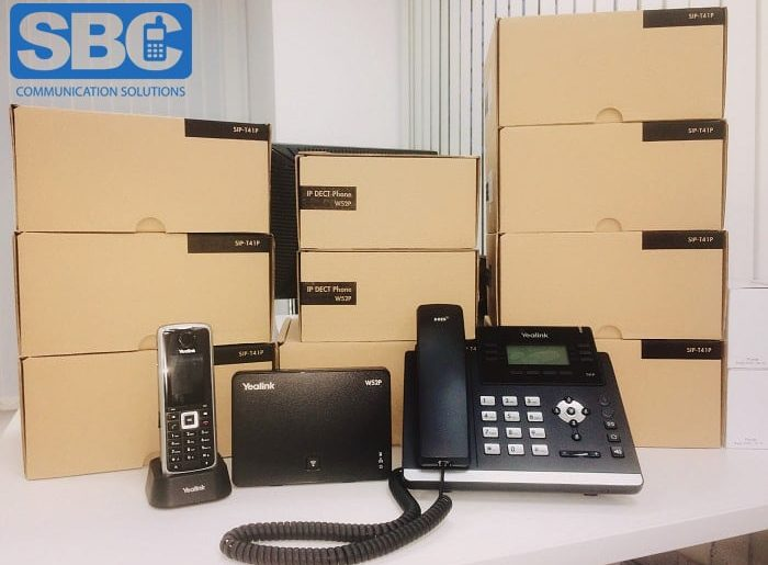 Cloud hosted phone system ready for business!