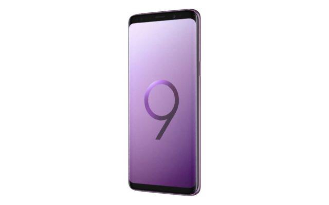 Samsung Galaxy S9 Lilac Purple Tilted