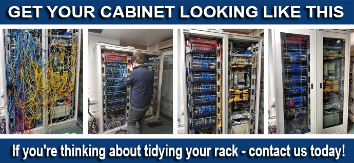 Voice & Data Cabinet Servicing!