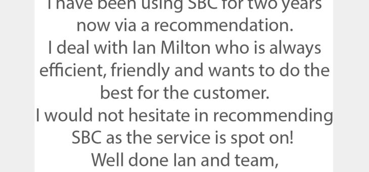 """""""I'm glad I am one of your customers"""" – Trustpilot Reviews August 2019"""