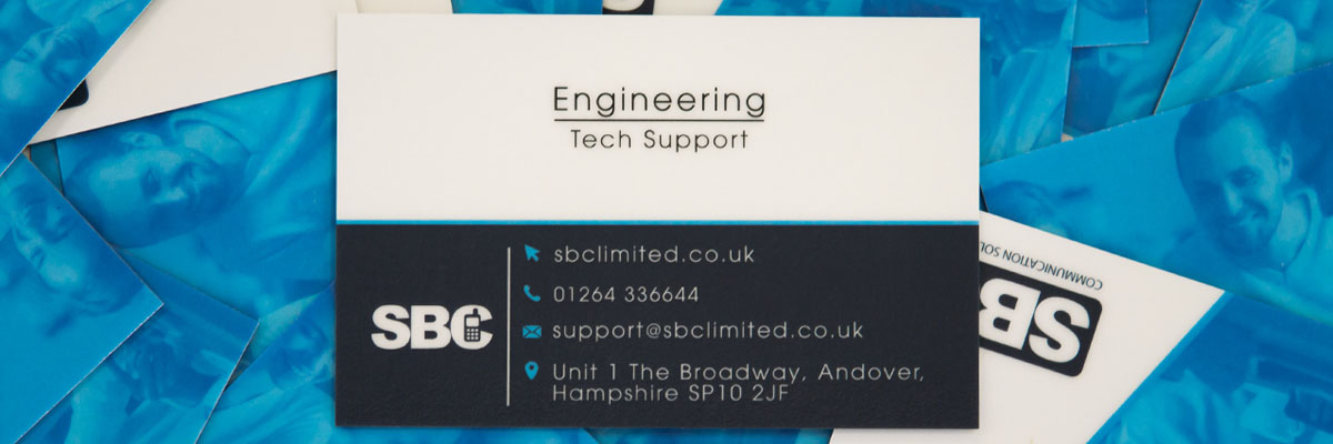 Southern Business Communications Business Card Contact Details