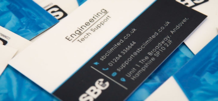New Business Cards for SBC