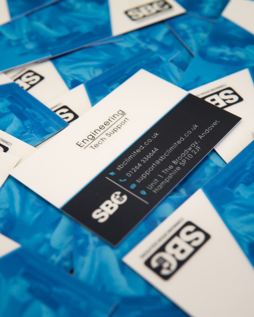 Southern Business Comms Contact Details Business Card