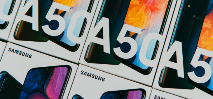 The Samsung Galaxy A50!