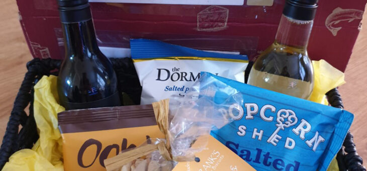 Free Customer Support Assistance and a Gift Hamper Basket