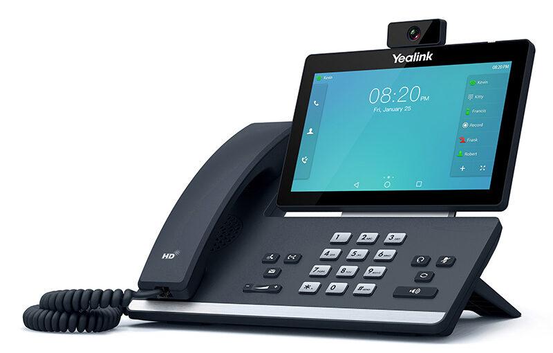 Cloud phone system handset Yealink T58V