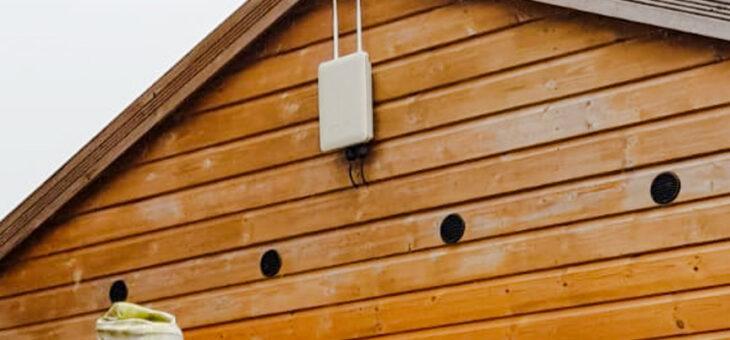 Garden Wi-Fi Extension – Broadband in your Garden
