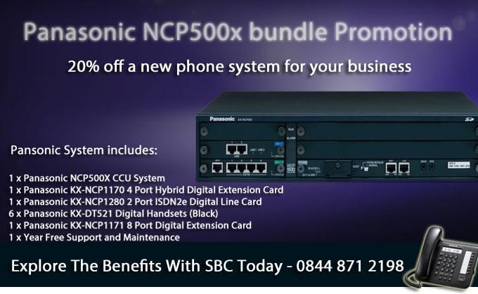 New Panasonic Telephone System Promotion