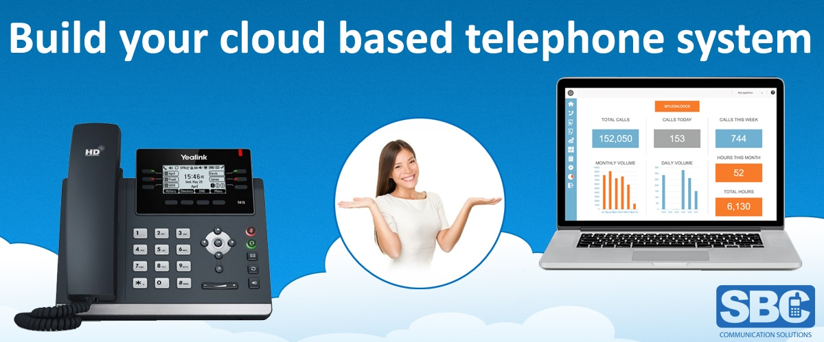 Cloud Hosted Phone System for business