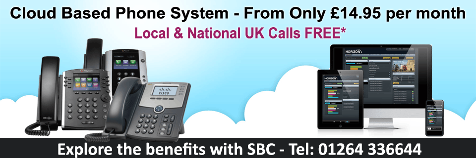 Get FREE calls to local, national and UK mobile numbers with SBC Horizon