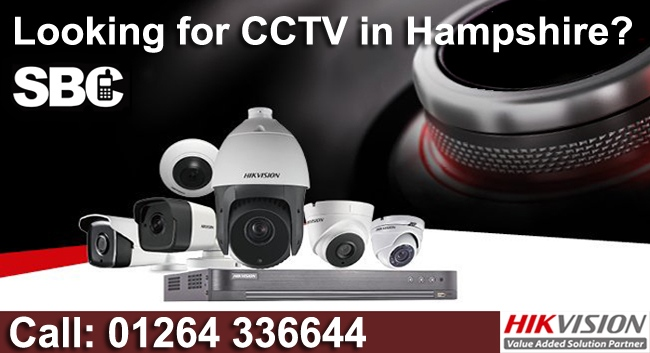 Hampshire CCTV Installations for Homes and Business