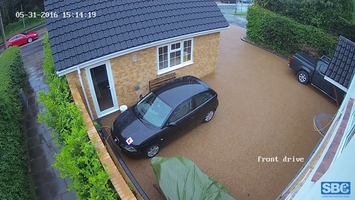 Example of image of Turrett CCTV