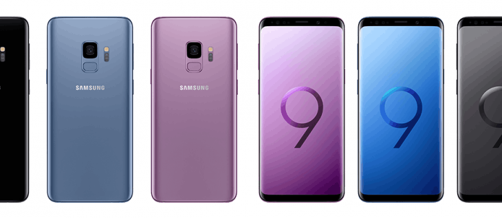 Pre-order the new Samsung Galaxy S9 & S9+