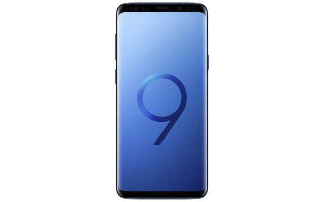 Samsung Galaxy S9 Coral Blue Front