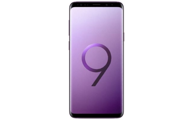 Samsung Galaxy S9 Lilac Purple Front