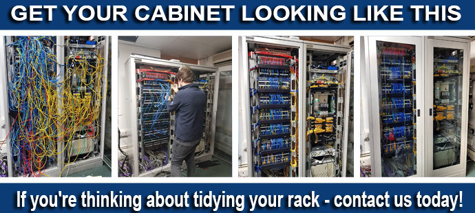 TIDY CABLING AFTER