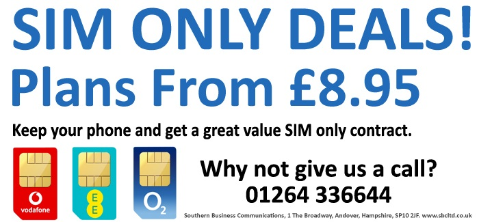 Cut your mobile bill in half… Go SIM only!
