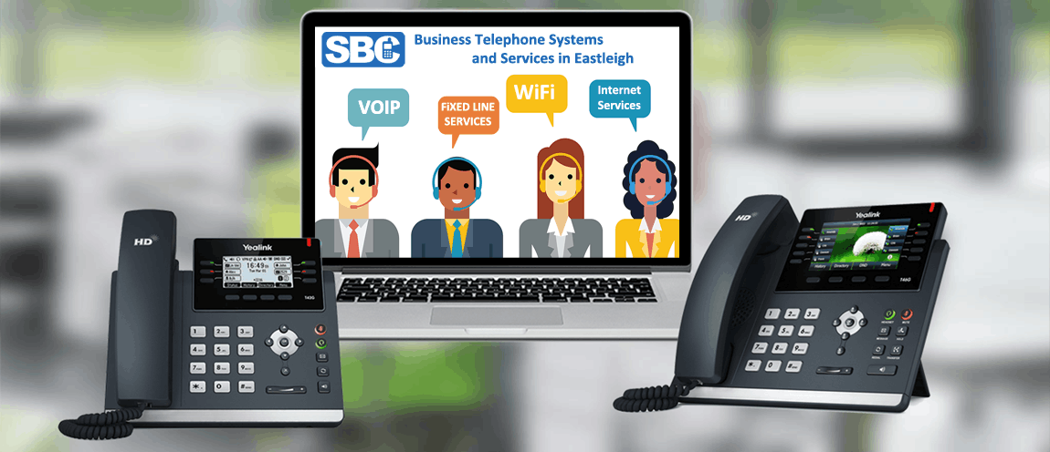 Business Telephone Systems Eastleigh. VoIP, WiFi, Internet