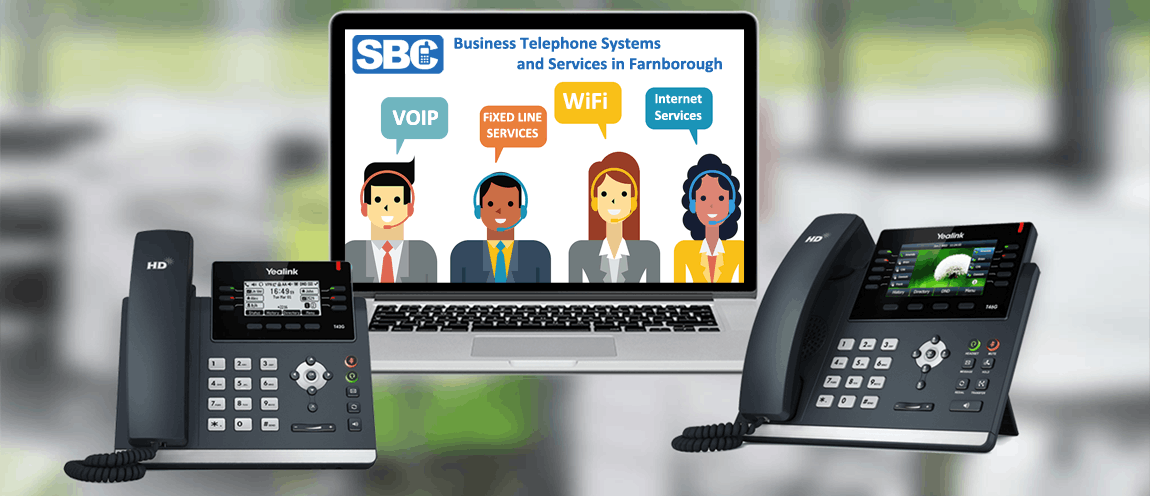 Business Telephone Systems and Services in Farnborough