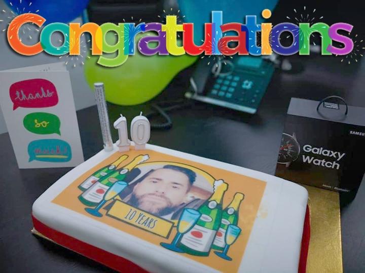 Greg Dornan Cake