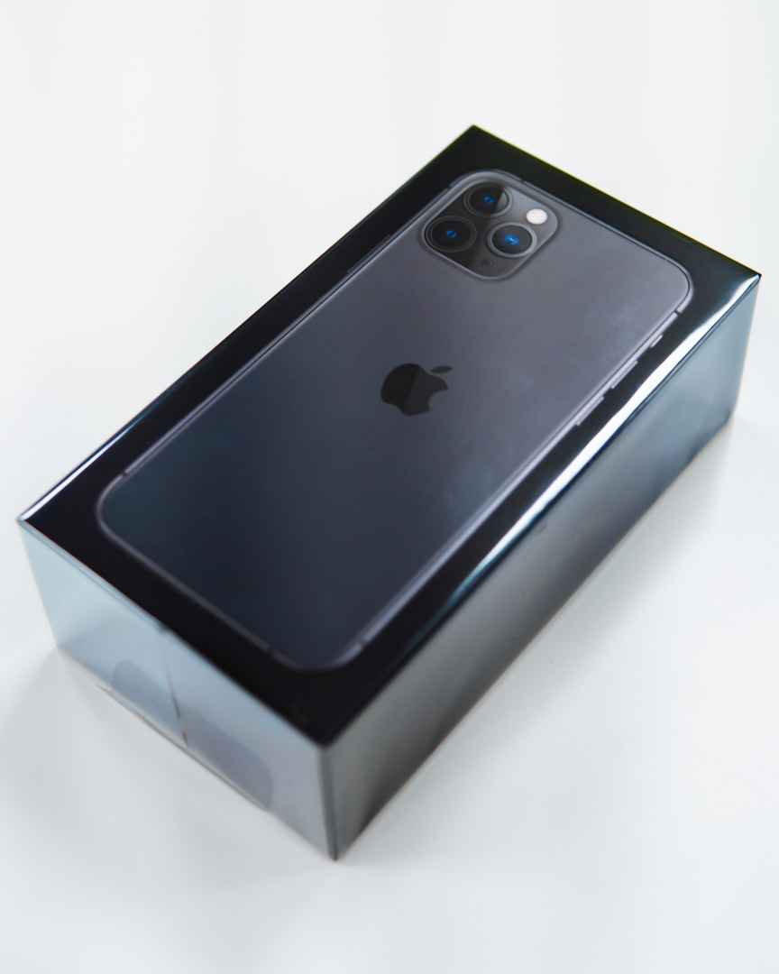 iPhone 11 Pro in Black boxed