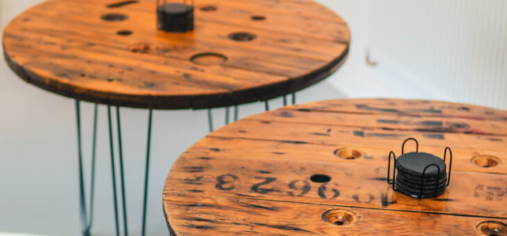 Amazing SBC Office Cable Drum Tables