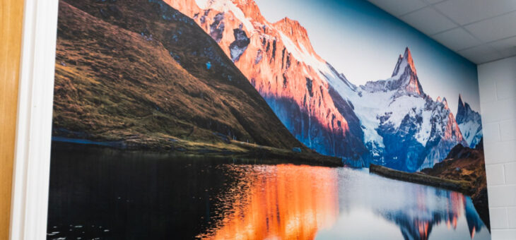 Admiring Beautiful Switzerland In Our Sales Office – SBC