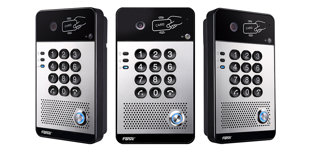 The Fanvil i30 Video Door Phone creates a Covid-19 safe workplace