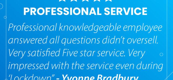 Review From A Very Happy Customer Yvonne Bradbury