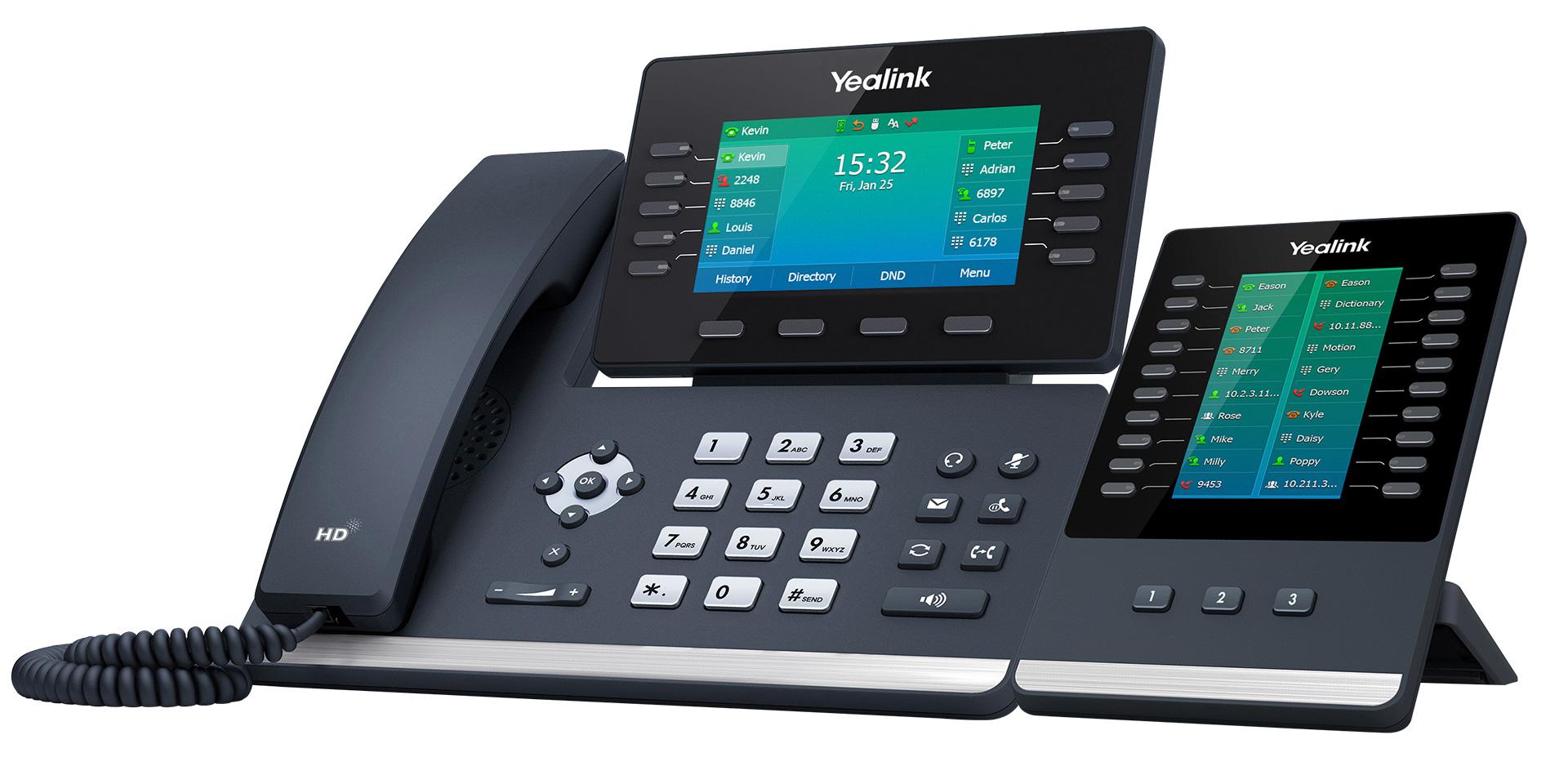 Best Cloud Phone System 2021 Desk Handsets Yealink T54W