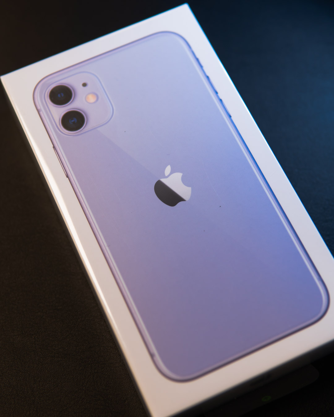Black Friday Discounted iPhone 11 For Business Users - Purple iPhone 11 in box