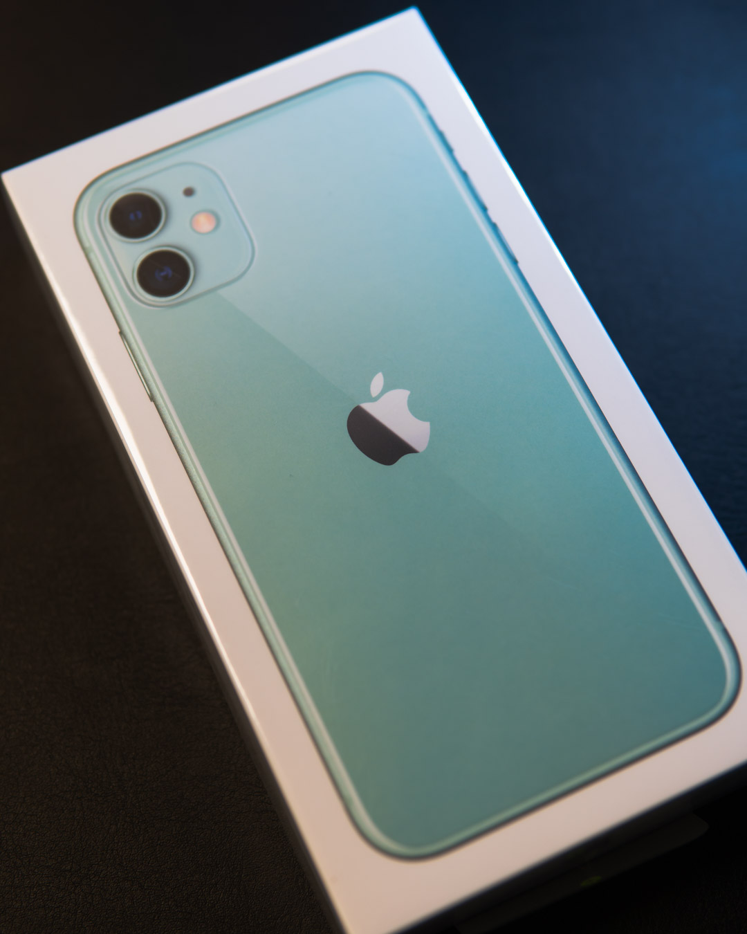 Black Friday Discounted iPhone 11 For Business Users - Green iPhone 11 in box